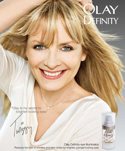 <b>Twiggy for Olay...</b>