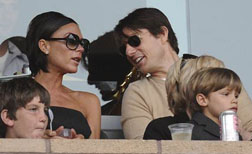 Victoria Beckham with Tom Cruise