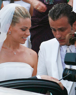 Alberto Gilardino's wedding.
