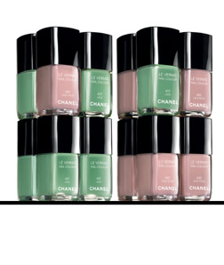 Chanel Nail Enamel in Jade and Jade Rose