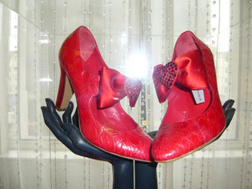 Ruby Slippers at The Wizard of Oz Exhibition