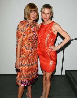 Anna Wintour with Renee Zellweger