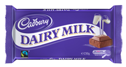 Cadbury Dairy Milk Now Fairtrade