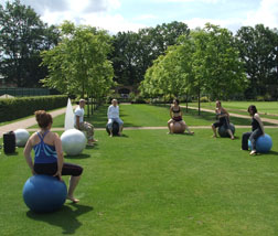 Fitness Ball Class at The Grove