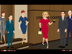 Make yourself into your very own Mad Men avatar.
