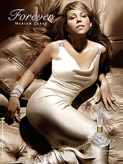 Mariah Carey's new fragrance Forever