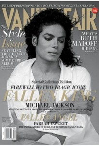Vanity Fair Michael Jackson Tribute Cover
