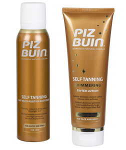 Piz Buin Fake Tan Range