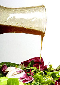 Add the Delicious Salad Dressing