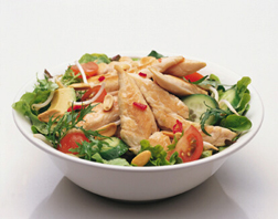 Soy Chicken & Avocado Salad