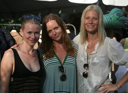 Stella with Gwyneth and Naomi
