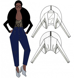Topshop design for VV Brown