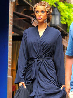 Tyra Banks guests on Gossip Girl