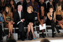 <b>Front Row at Fashion...</b>