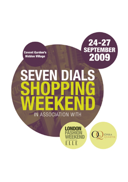 Seven Dials Shopping Weekend