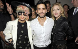Fashionable Friends Lady Gaga, Marc Jacobs and Madonna