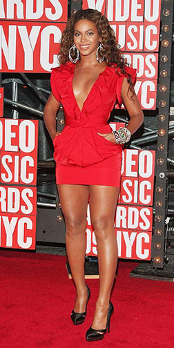 Beyonce at the VMA's