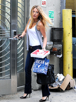 Blake Lively Spotted in New York