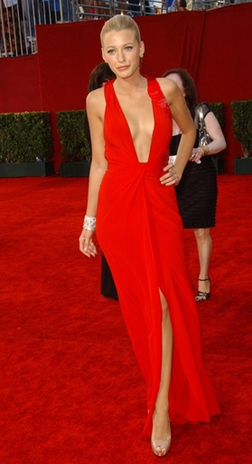 Blake Lively at the Emmy Awards
