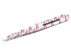 Tweezerman Pink Ribbon Slant Tweezers