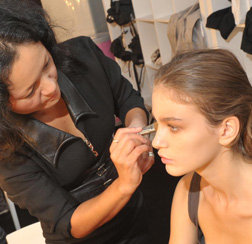 <b>Backstage at Emilio ...</b>