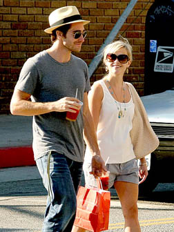 Jake Gyllenhaal with Reese