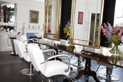 James Brown salon on Wigmore Street