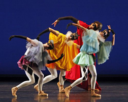 Morphoses/The Wheeldon Company on stage