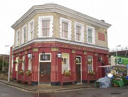 The Queen Vic in EastEnders