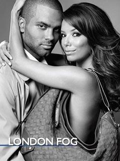 Eva Longoria and Tony Parker for London Fog