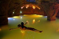 Lava Floatation Pool,