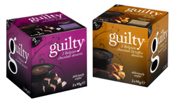 Guilty Chocolate Pots