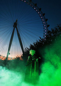 Halloween at The London Eye