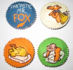 Hummingbird Bakery - Fantastic Mr Fox Cupcakes