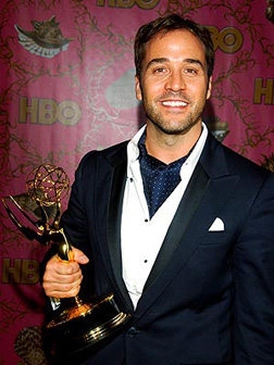 Jeremy with his Emmy