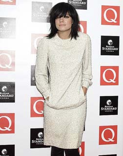 Lily Allen at the awards