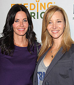 Courteney with Lisa