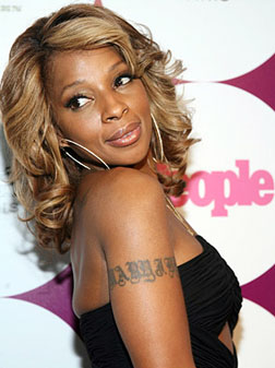 Why is Mary J Blige so happy?