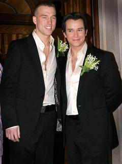 Stephen Gately With Partner