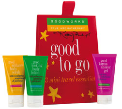 Good Works True Aromatherapy gift sets