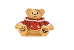 Harrods Christmas Bear perfume compact