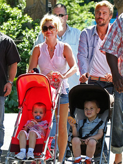 Britney Spears and her new beau Jason Trawick
