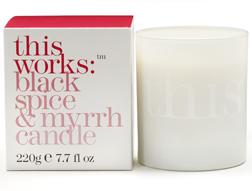 This Works Black Spice & Myrrh Candle