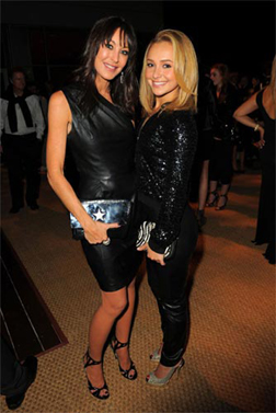 Tamara Mellon with Hayden Panettiere