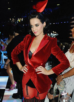 Host Katy Perry