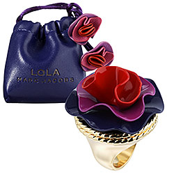 Marc Jacobs Lola Cocktail Ring