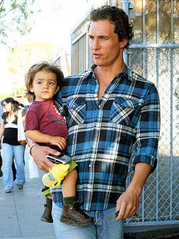 Matthew McConaughey and son Levi