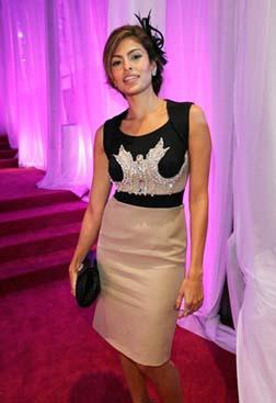 <b>Eva Mendes at MOCA ...</b>