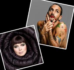 Isabella Rossellini and Marc Jacobs from the NARS book