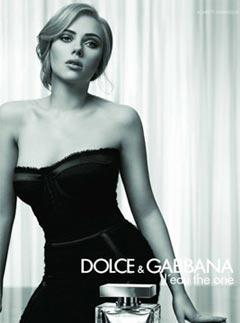 Scarlett Johansson for Dolce & Gabbana's L'Eau De One